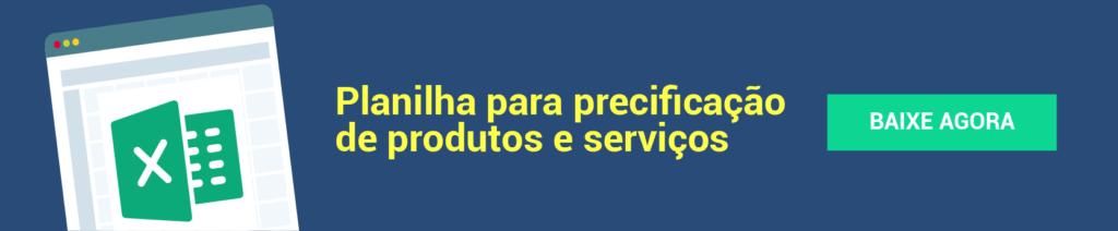 Planilha gratuita precificação produtos e serviços - post inovação
